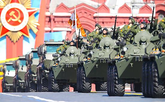 Парад Победы на Красной площади, 2014 год.