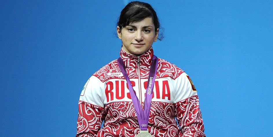 Российская тяжелоатлетка Светлана Царукаева