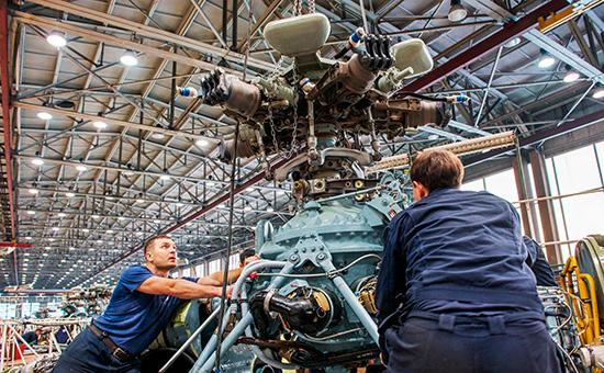 Установка двигателя в вертолет
