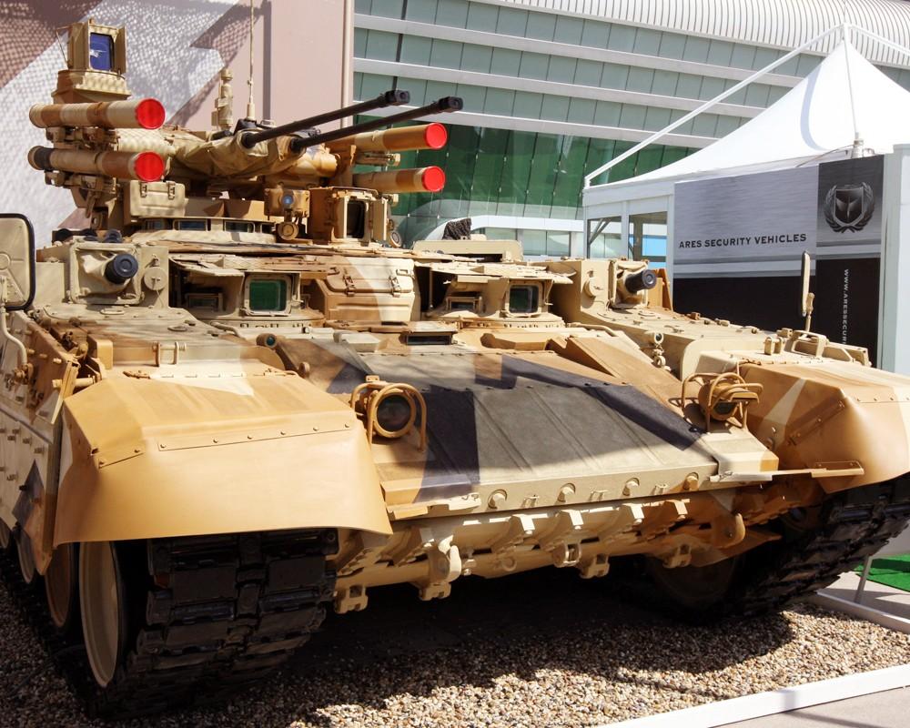 Боевая машина огневой поддержки танков (БМПТ)
