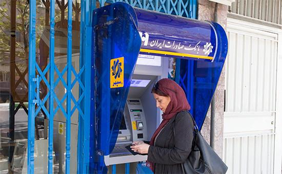 Банкомат вТегеране, Иран
