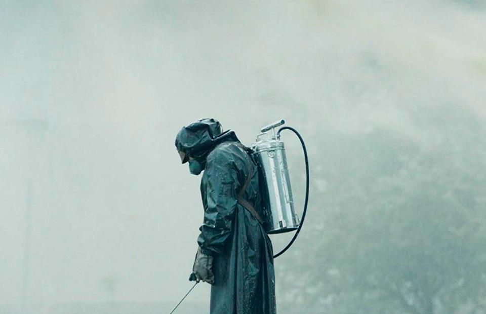 Кадр из сериала«Чернобыль»