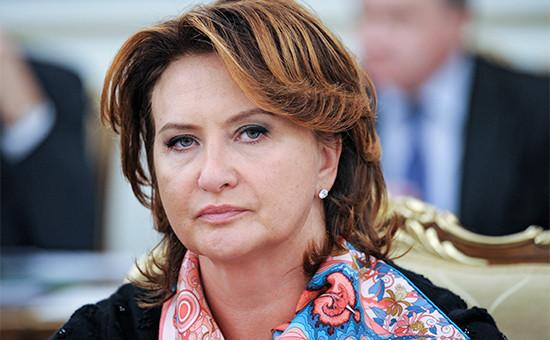 Экс-министр сельского хозяйства России Елена Скрынник