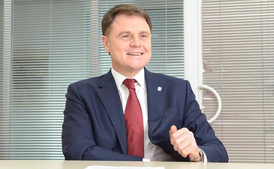 Руководитель Тульской области Владимир Груздев