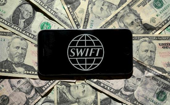Логотип международной межбанковской системы передачи информации SWIFT