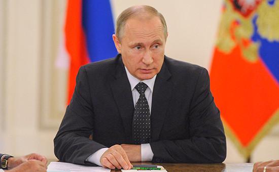 Президент России Владимир Путин, 31 июля 2016 года