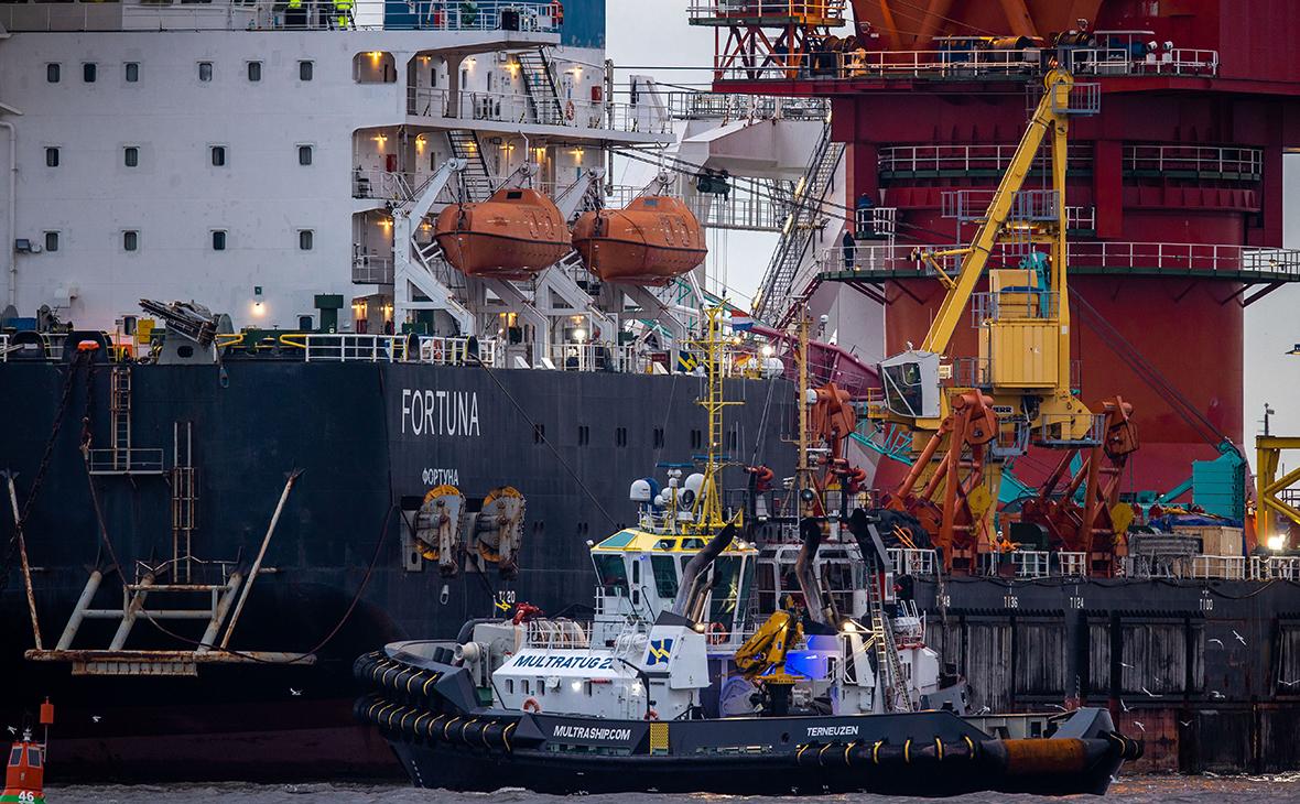 В конгрессе США назвали 15 связанных с «Северным потоком-2» судов