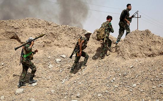 Боевики организации «Исламское государство»
