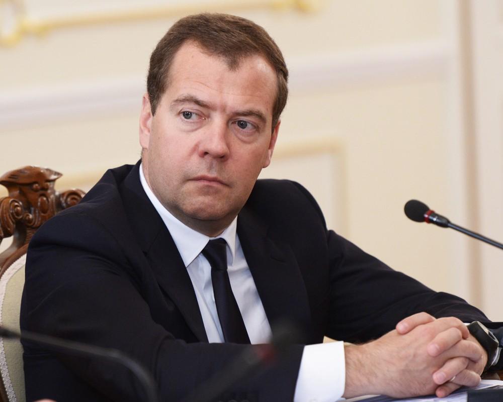 Глава правительства России Дмитрий Медведев