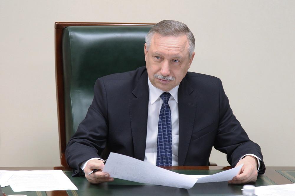Врио губернатора Петербурга Александр Беглов