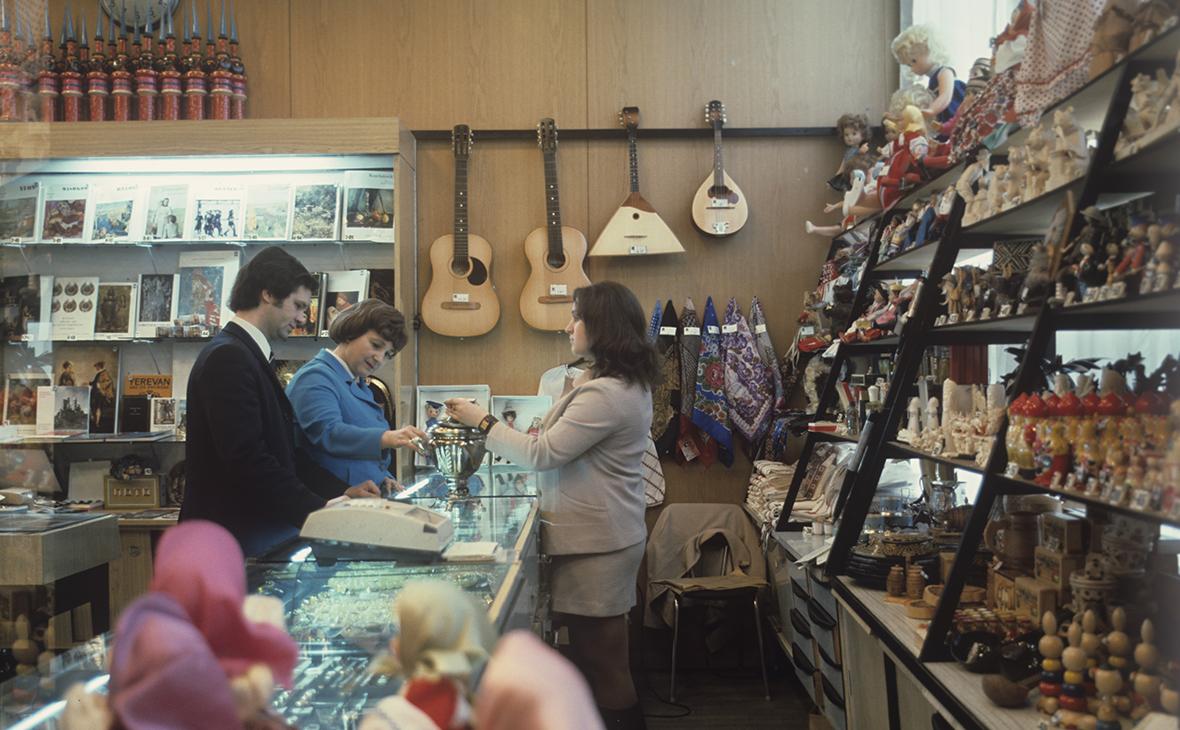 Магазин «Березка» в 1978 году