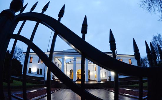 Правительственная резиденция в Минске, где проходило заседание Контактной группы по урегулированию конфликта на востоке Украины.