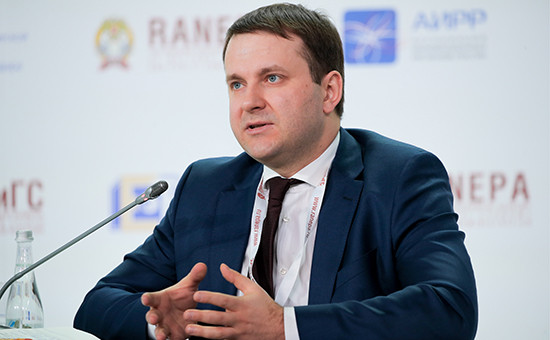 Министр экономического развития РоссииМаксим Орешкин