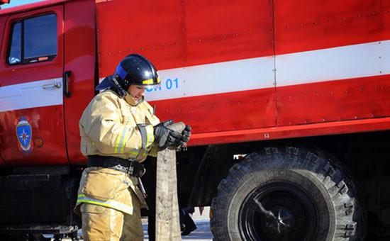 Сотрудник пожарной части, 2015 год