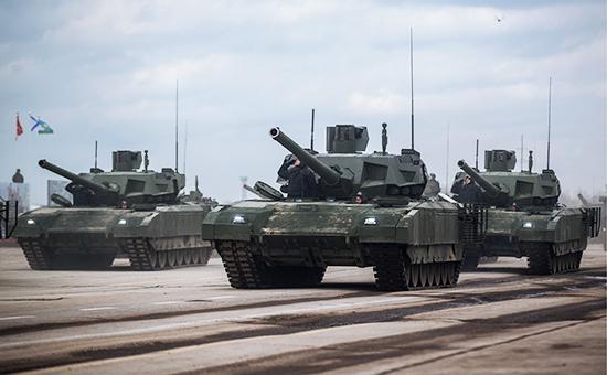 Танки Т-14 «Армата»