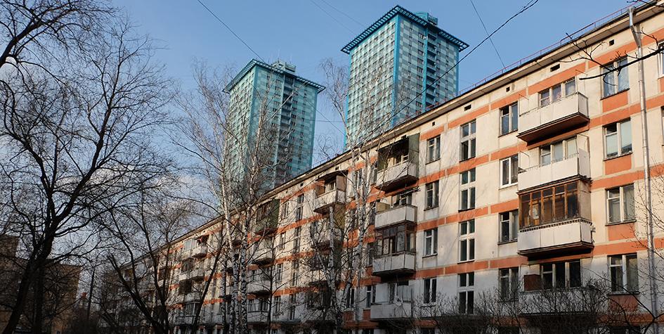 Жилой пятиэтажный дом врайоне станции метро «Щукинская»