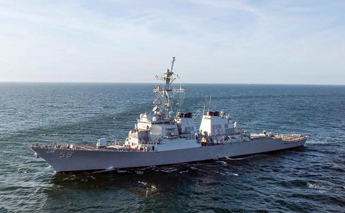 Ракетный эсминец ВМС США Laboon (DDG-58)