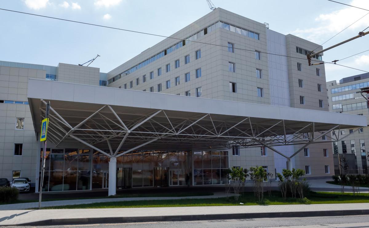 Здание Московского международного онкологического центра