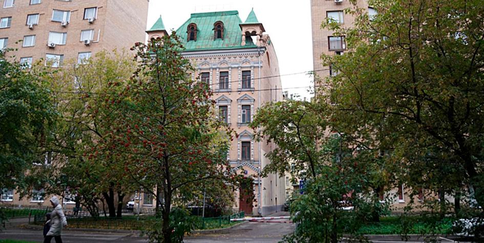 Современное состояние здания по адресуРужейный переулок, 2а