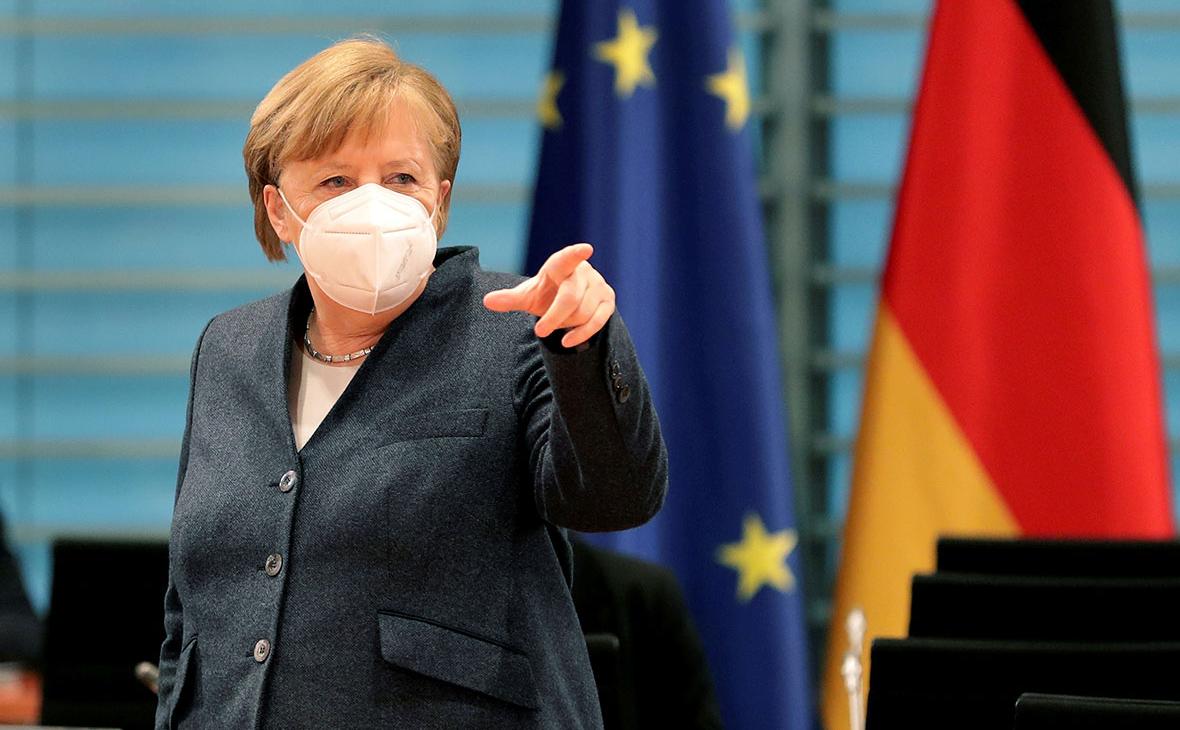 Меркель заявила о согласии лидеров ЕС ввести сертификаты о вакцинации