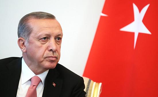 Президент Турции РеджепЭрдоган