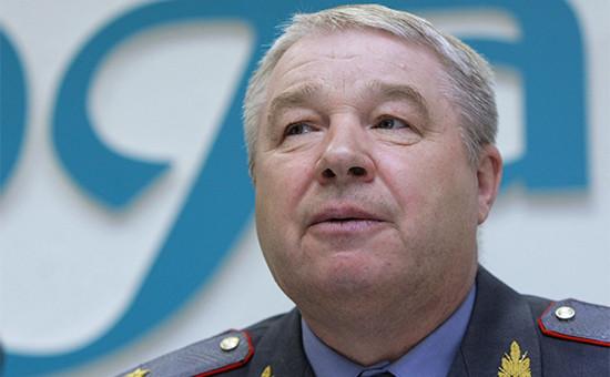 Новый начальник полиции Москвы генерал Вячеслав Козлов
