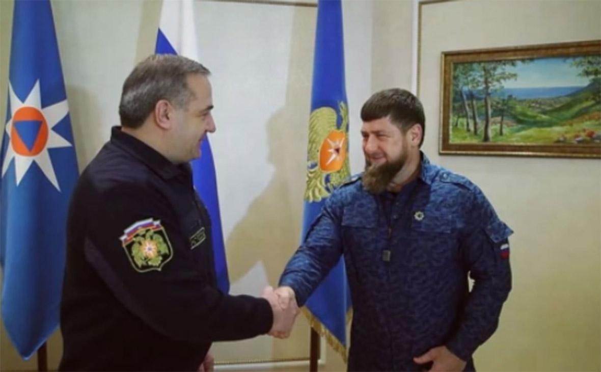 Владимир Пучков иРамзан Кадыров