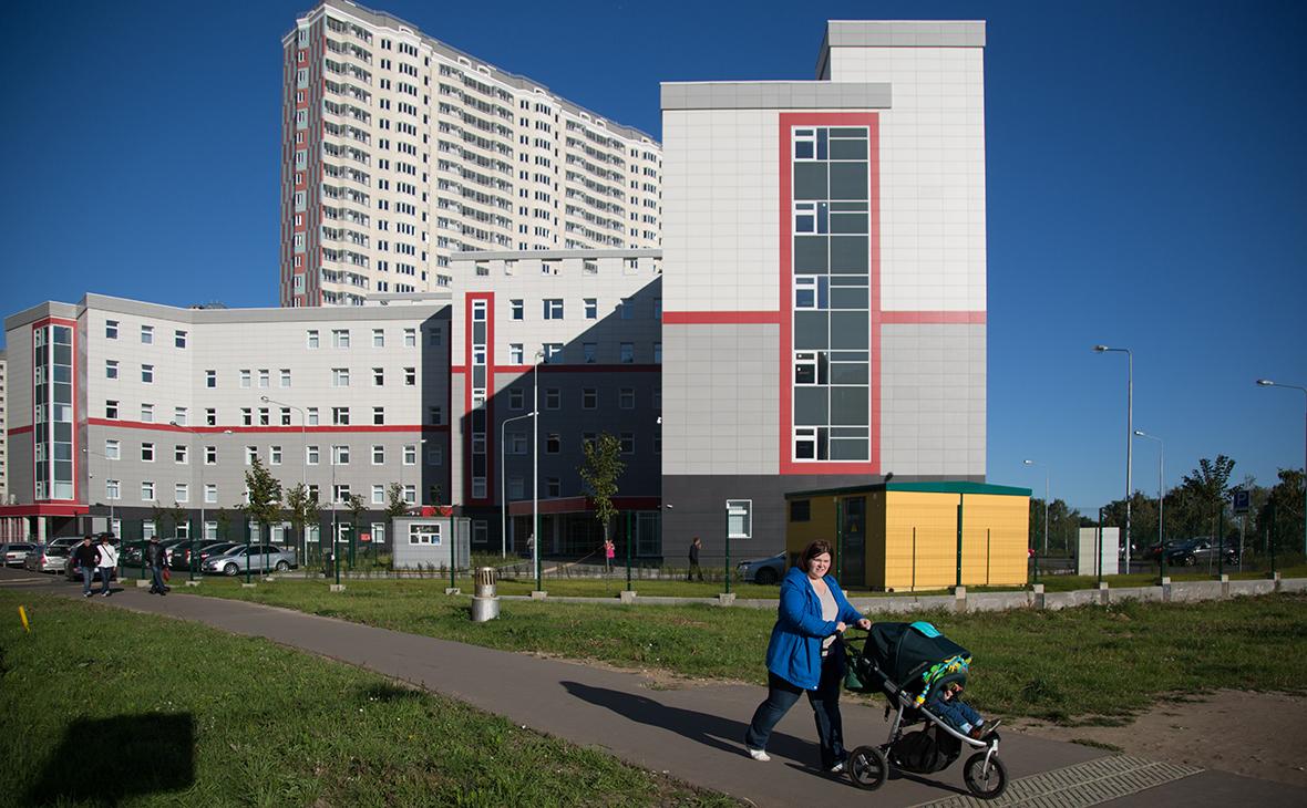 Виды юго-восточного административного округа Москвы