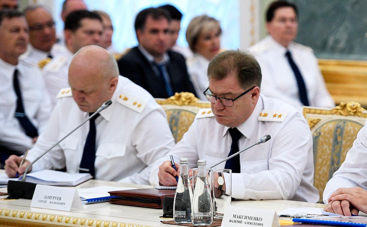 Сергей Замуруев и Сергей Сергеев