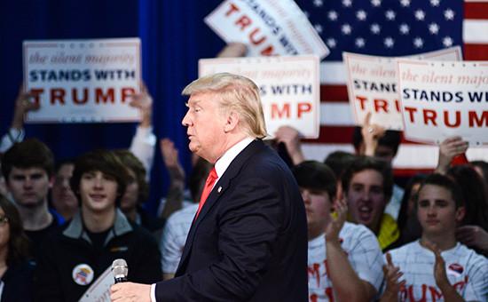 Кандидат впрезиденты США миллиардер Дональд Трамп