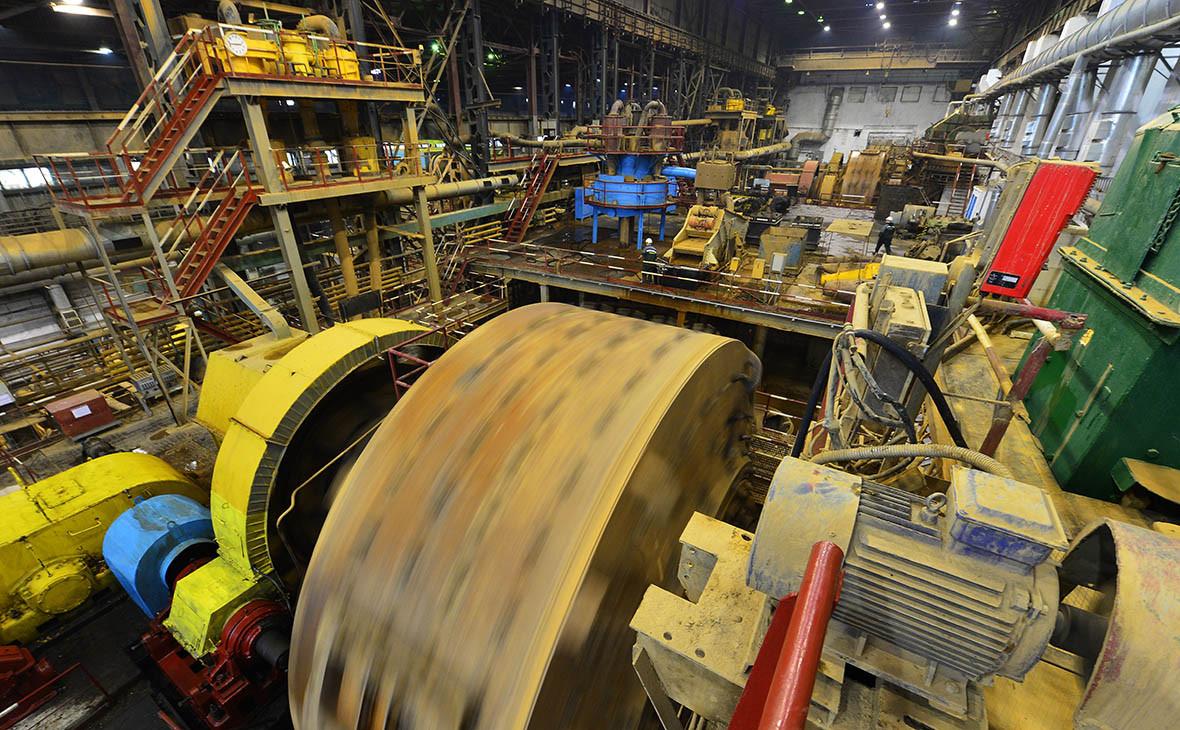 Добыча золота на предприятии«Полюс» в Якутии