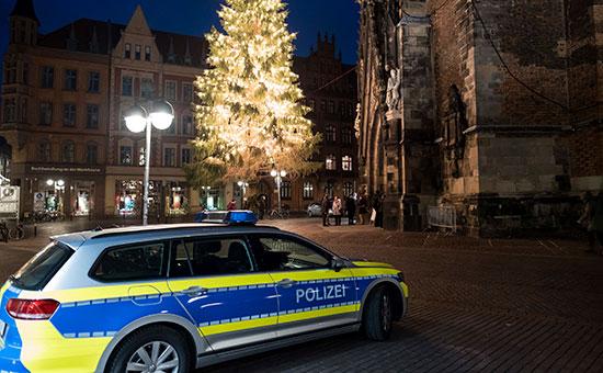 Сотрудники полиции в Берлине, Германия