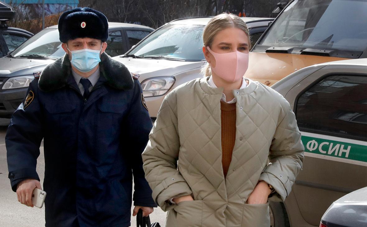 Суд отпустил Соболь и брата Навального из-под домашнего ареста
