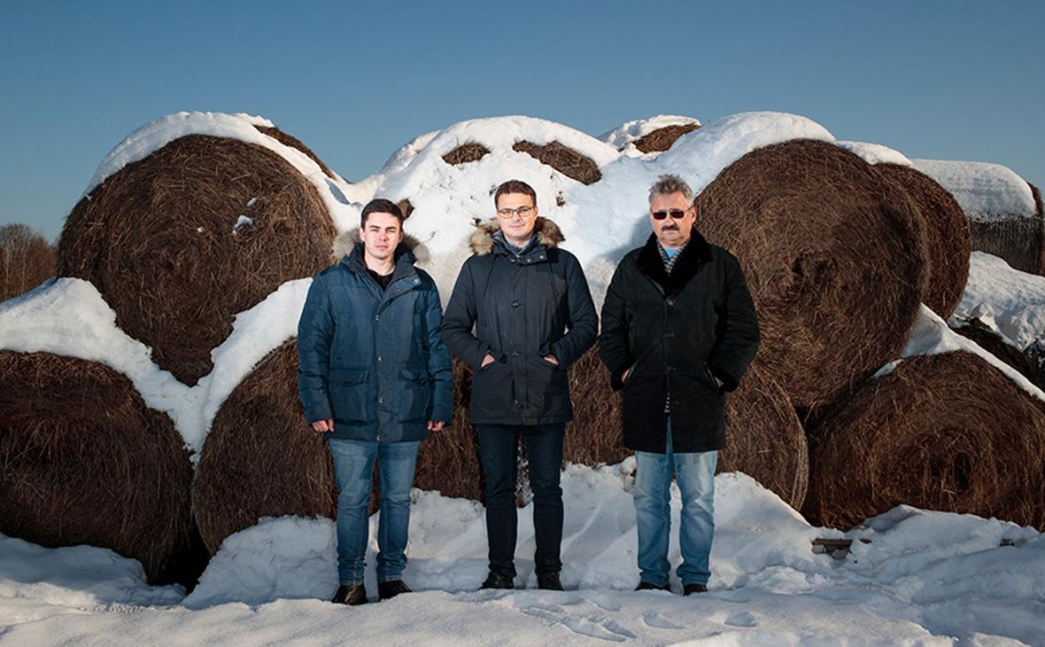 Михаил Зимин, Владислав Павлов, Дмитрий Павлов (слева направо)