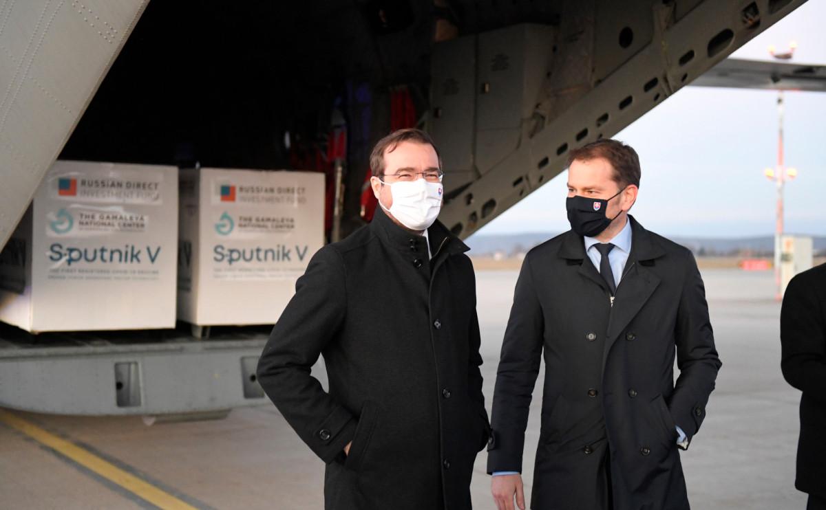 Марек Крайчи (слева) и Игорь Матович