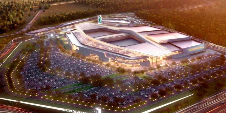 Проект строительства торгового центра «Саларис» в Саларьево