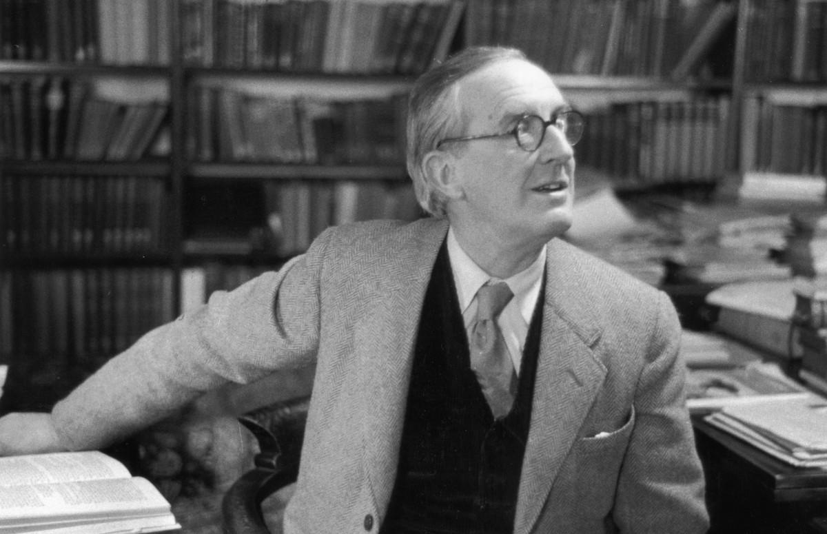 Джон РональдТолкин, Оксфорд, 1955