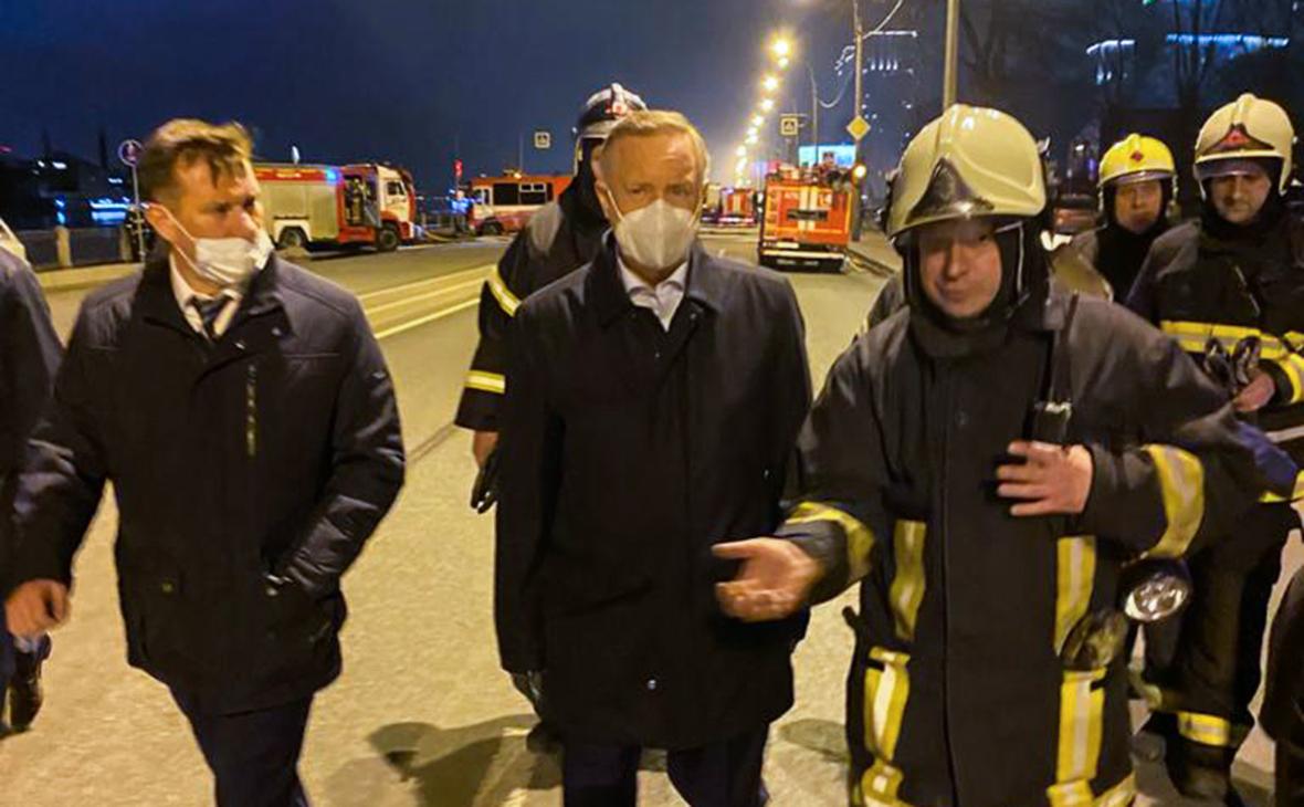 Александр Беглов прибыл к «Невской мануфактуре»