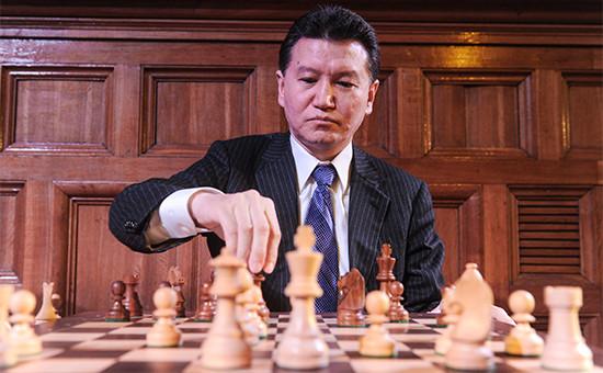 Президент Международной шахматной федерации (ФИДЕ) Кирсан Илюмжинов