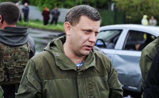 Глава самопровозглашенной Донецкой народной республики Александр Захарченко