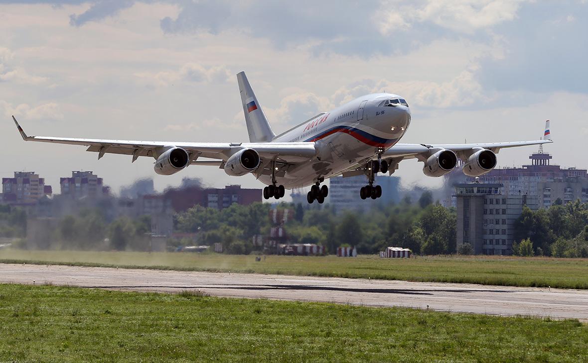 Ил-96летногоотряда «Россия»