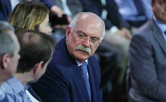 Глава российского Союза кинематографистов и президент Российского союза правообладателей (РСП) Никита Михалков