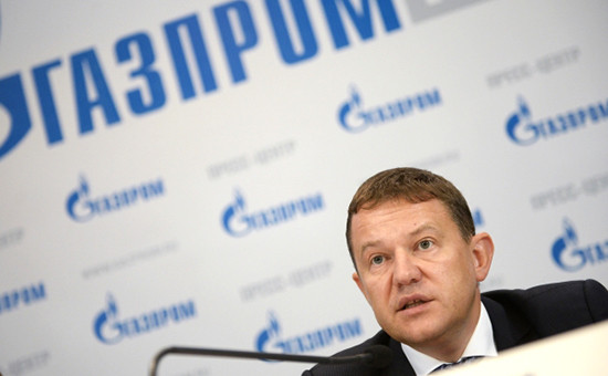 Заместитель главы правления «Газпрома» Андрей Круглов