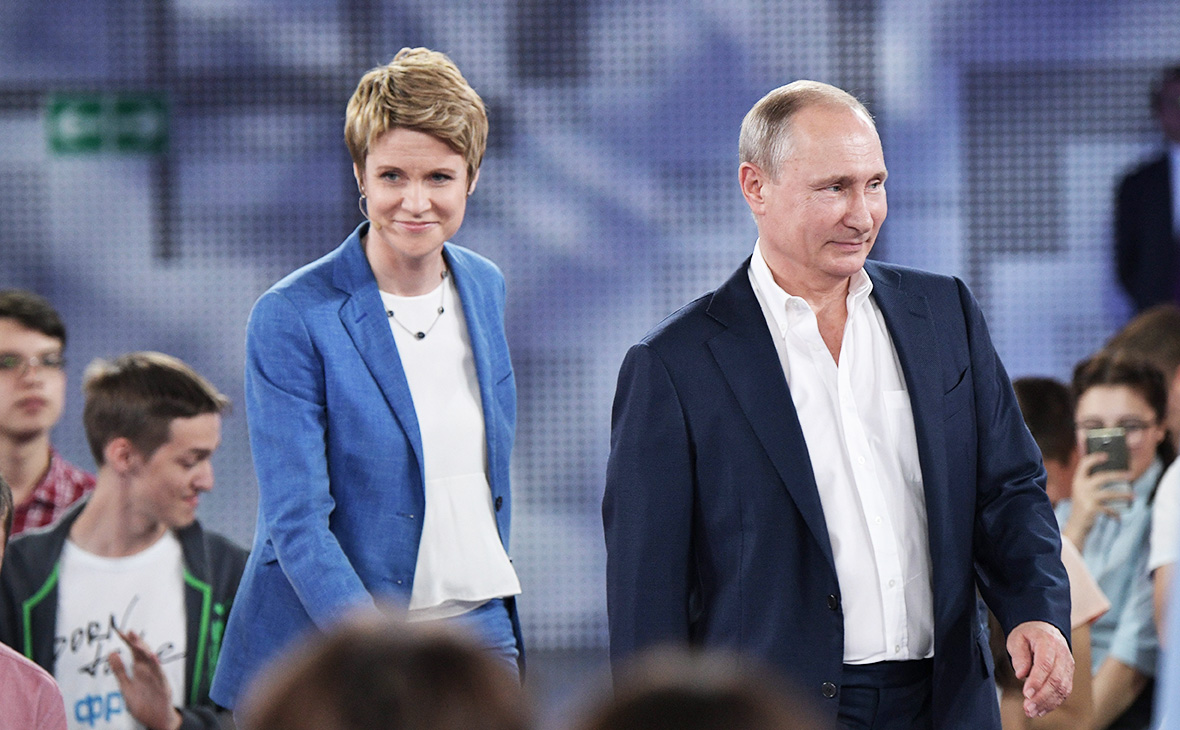 Владимир Путин иЕлена Шмелева