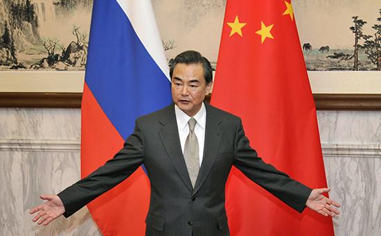 Глава Министерства иностранных дел КНР Ван И