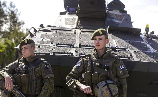 Военнослужащие финской армии. Архивное фото