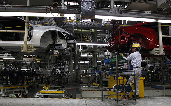 Завод по производству автомобилей Toyota