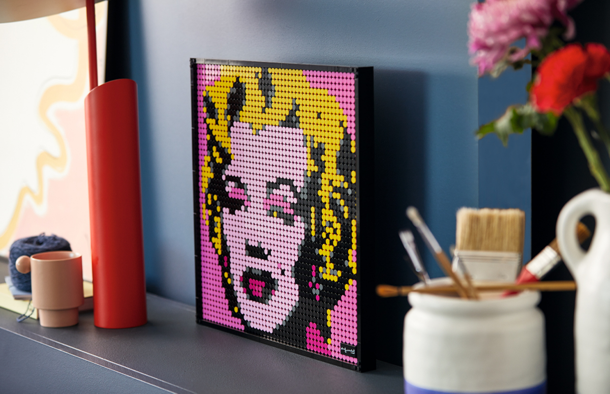 Набор Andy Warhol's Marilyn Monroe, LEGO Art