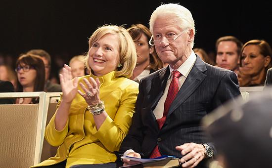 Хиллари и Билл Клинтоны