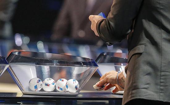 Жеребьевка Евро-2016в субботу во Дворце конгресса в Париже
